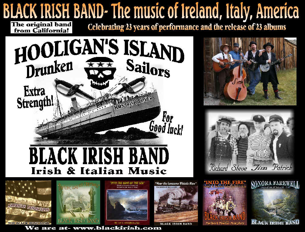 Black Irish Band Celebrating 23 Years